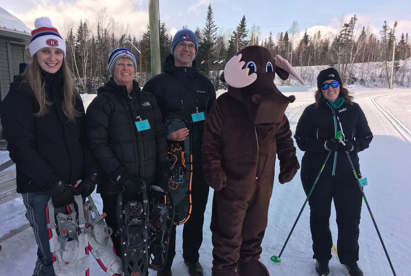 The cold temperatures didn't keep everyone away from the fun winter events during the 27th annual Winterlude in Grand Falls-Windsor Feb. 14-17. It certainly didn't keep snowshoers and skiers off the Exploits Nordic Ski Club.  CONTRIBUTED