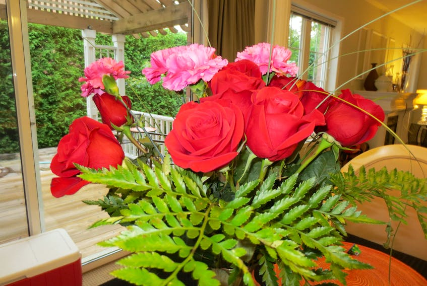 Fresh flowers – either cut or potted – make wonderful Valentine's Day gifts for all ages.