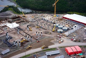 Grieg Seafoods is building a land-based salmon hatchery in Marystown, as part of its overall plan for salmon farming in Placentia Bay.