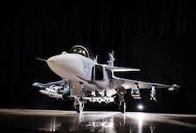 Gripen E. Photo courtesy Saab.