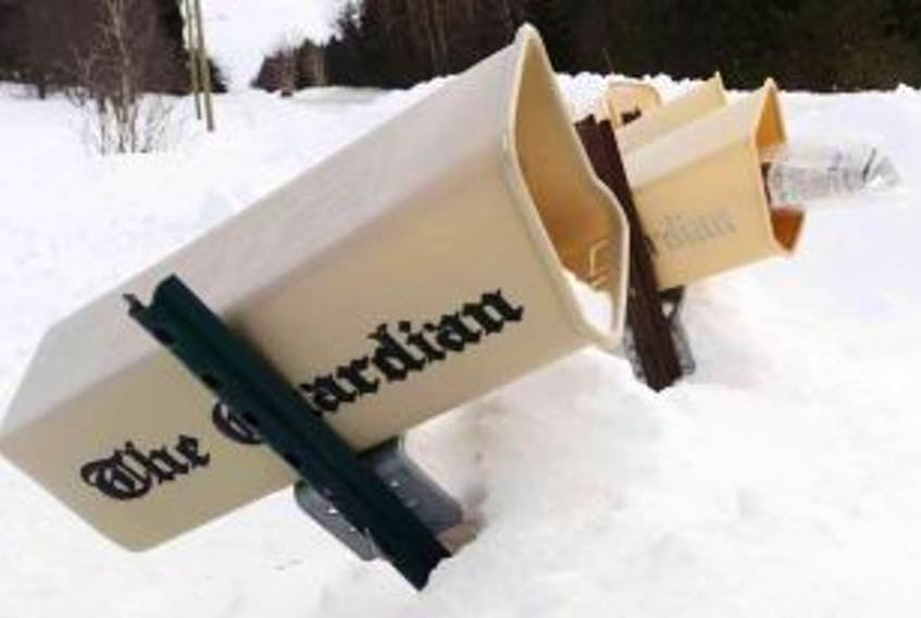 ['Guardian newspaper box']