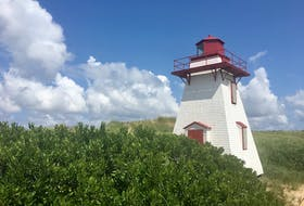 """""""Our lighthouse last summer,"""" says Vera Teschow. """"Haven't seen her in person yet this year, but sure can't wait to!"""" - Vera Teschow/Special to The Guardian"""