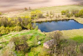 This stock photo depicts an agricultural holding pond for irrigation, which will are allowed under P.E.I.'s Water Act as long as they are built by June 16, 2021.
