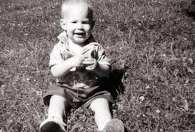 Gabriel Wortman as a toddler.