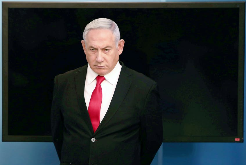 Isreal's Binyamin Netanyahu. REUTERS