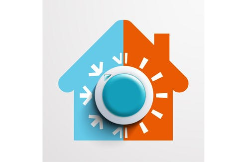 """Installing programmable thermostats allows you to """"set and forget"""" the temperatures in your home."""