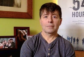 Michael Crummey wrote 'Far Away From Far Away' based on conversations he had with Zita Cobb over the period of a week on Fogo Island. Cobb insisted the story not focus on her personally, but Crummey felt the story of her father and their relationship was like a microcosm of the story of Fogo Island. — Andrew MacCormack/Contributed