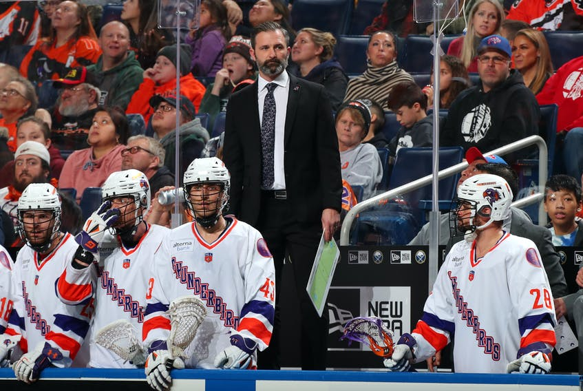 Halifax Thunderbirds coach Mike Accursi is looking forward to Thursday's 2020 National Lacrosse League entry draft that will be held virtually.  Contributed