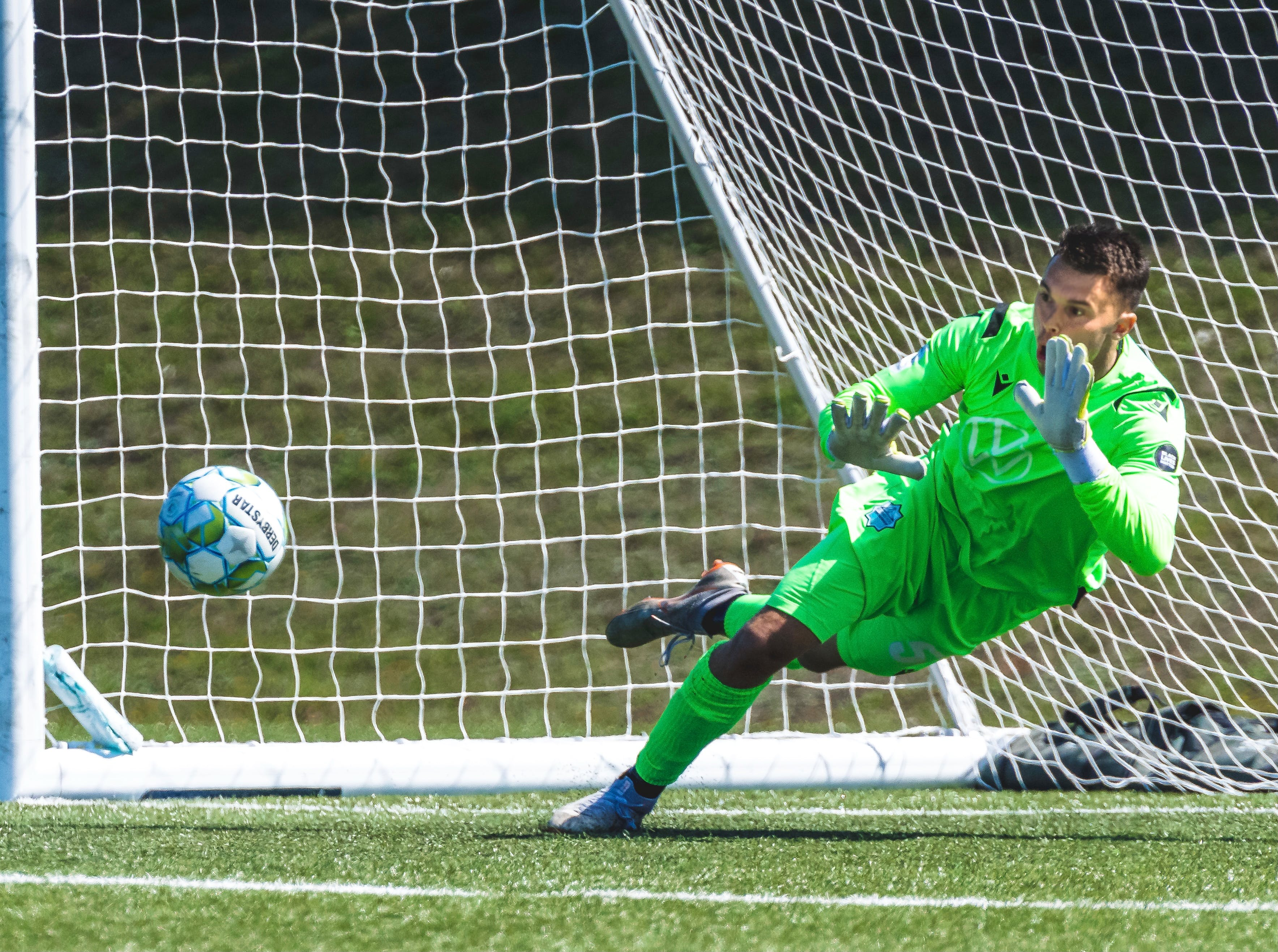 Goalkeeper Christian Oxner has become a homegrown star for his hometown HFX Wanderers.   HFX WANDERERS