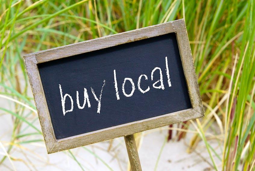Columnist Hannah Rudderham suggests consumers buy local. STOCK IMAGE