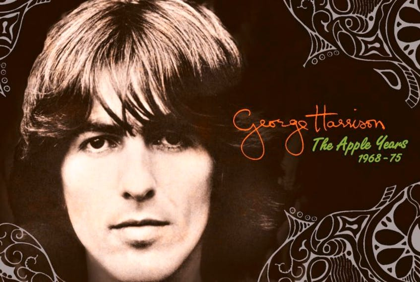 Remastered versions of the first six solo albums released by George Harrison on Apple Records have just been released. They are available individually or as a deluxe box set.