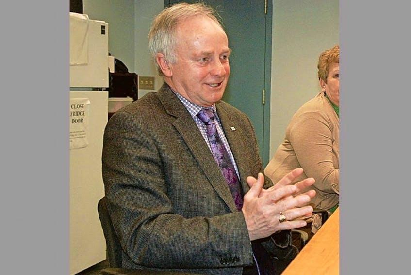 Health minister Leo Glavine