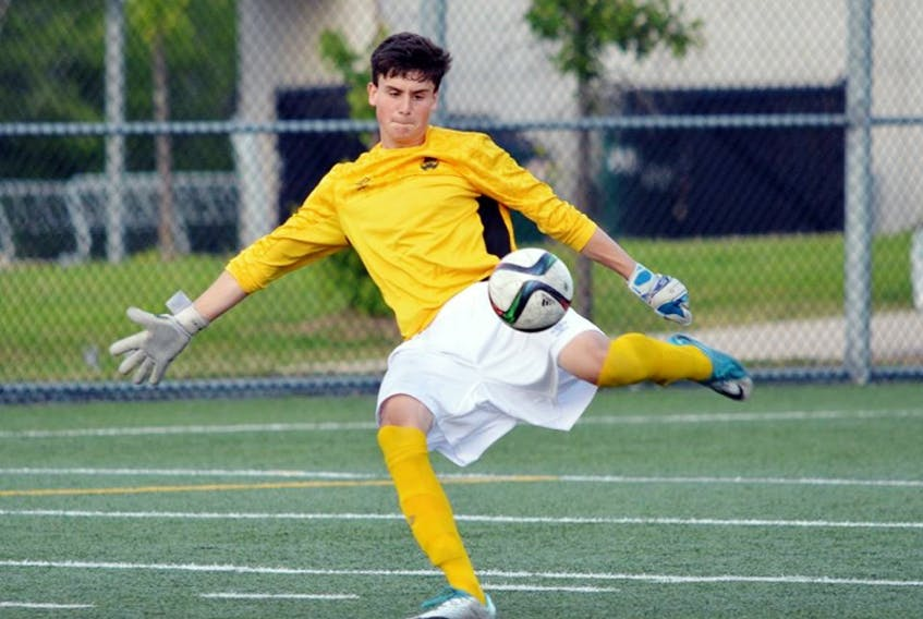 HFX Wanderers signed keeper Kieran Baskett of Halifax to a contract for the 2021 season with a club option for 2022. – Contributed
