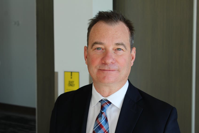 Newfoundland and Labrador Employers' Council president Richard Alexander.