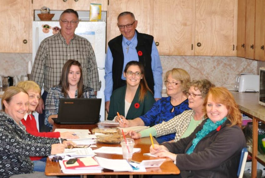 <p>The core sponsor committee is spending a lot of time in the kitchen at the Hillgrove Baptist Education Centre trying to plan on everything they'll need to support a family of eight from Syria for a year.</p>