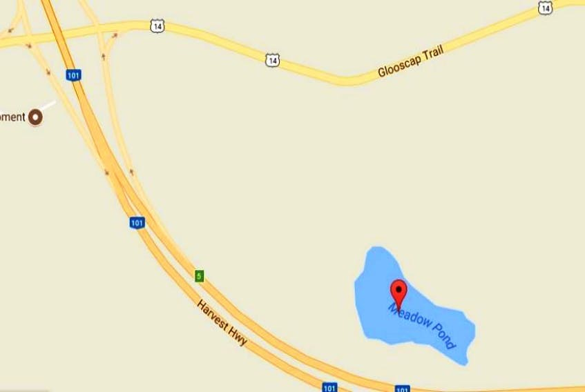 Motorists driving along Highway 101 near the Garlands Crossing exit often can spot people fishing out on Meadow Pond, even in the dead of winter.