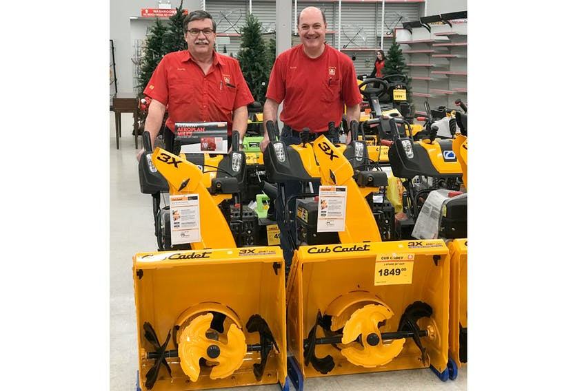 Don't forget snowblower maintenance this winter. Staff at Gow's Home Hardware and Furniture in Bridgewater take a look at some new models available, but say that snowblowers should undergo annual maintenance. Jennifer Naugler