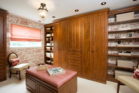 Real estate permitting, an entire room could be converted into a walk-in wardrobe.