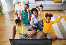 Console gaming is more than just war competitions for gamers, it's a way for families to foster quality time at home.