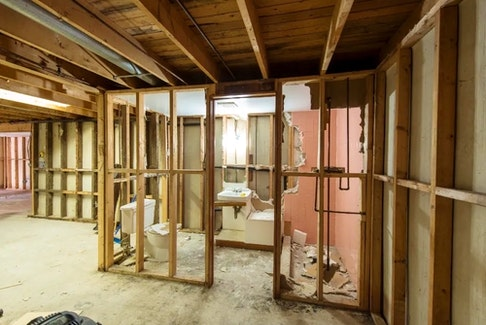 When a flood occurs, you'll need to take the affected area down to the studs, Mike Holmes says.