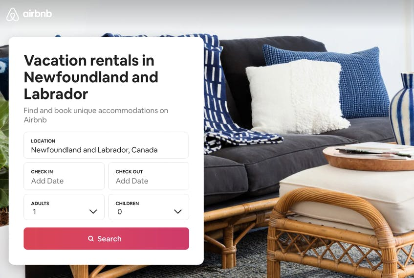 The Newfoundland and Labrador government announced some impending changes to its Tourism Establishment Act and Regulations Tuesday. Hospitality Newfoundland and Labrador has been leading the charge requesting action to deal with short-term rental accommodations, such as those offered online through Airbnb. — AIRBNB IMAGE