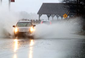 A report projecting changes to St. John's climate over the coming decades says we can anticipate more precipitation, among other things - making road-drenched commutes a more frequent reality. -SALTWIRE NETWORK FILE PHOTO