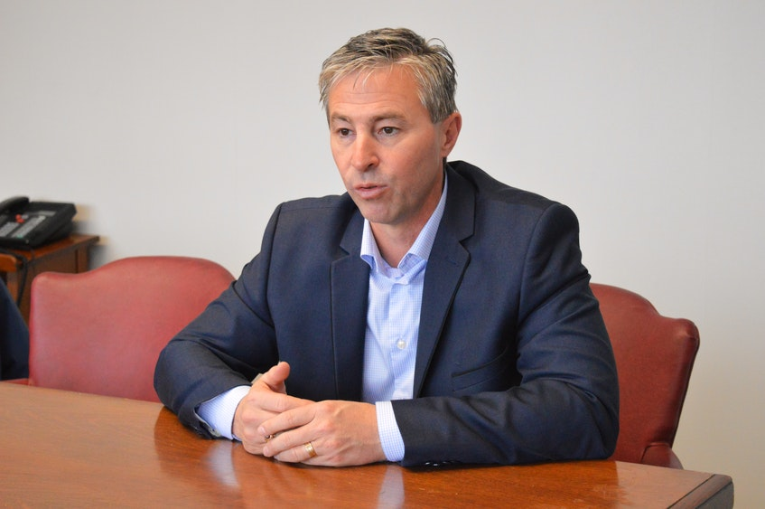Nova Scotia PC Leader Tim Houston says the Liberal announcement Friday is not a real plan for long-term care but rather a 'cynical political move for Iain Rankin to try to get elected.' -- David Jala/Cape Breton Post - SaltWire Network