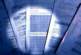 File photo of redacted Access to Information documents