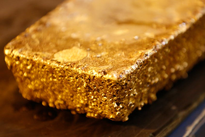 Gold broke through the US$1,350 level recently.