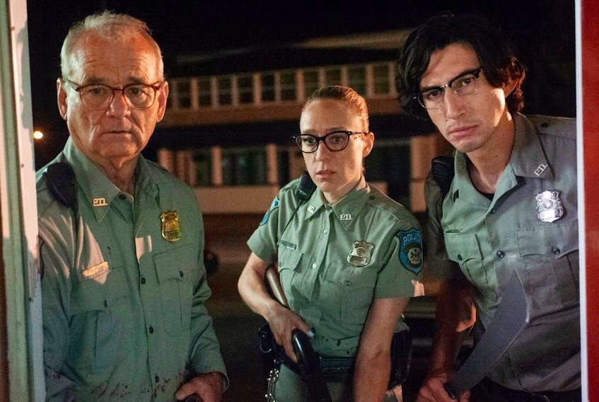 Bill Murray, Chloë Sevigny, Adam Driver in The Dead Don't Die.