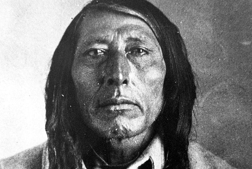 """Chief Poundmaker. """"He was essentially the rising leader of the Cree."""""""