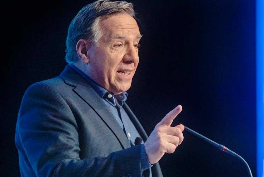 """""""After a first year where we made many changes (in Quebec), prepare yourselves,"""" a pumped Premier François Legault told the 74 member of his caucus at their meeting last week in Rivière-du-Loup."""