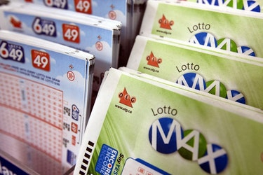 Lotto Max and Lotto 6/49 tickets.