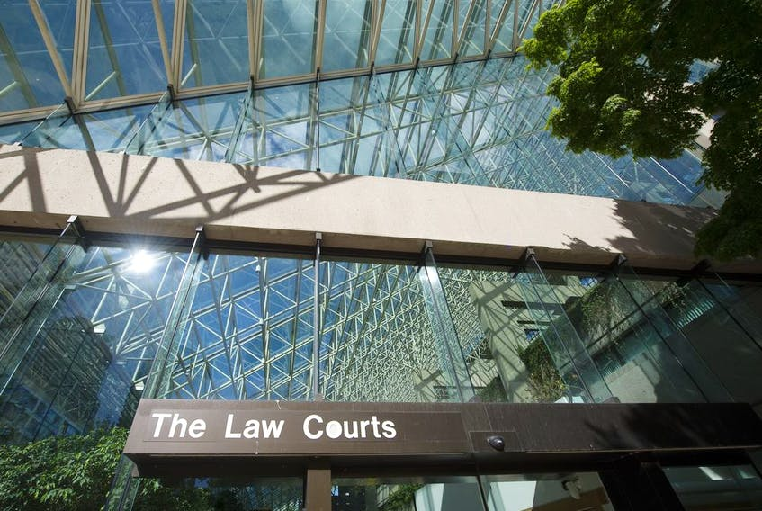 The B.C. Supreme Court in Downtown Vancouver.