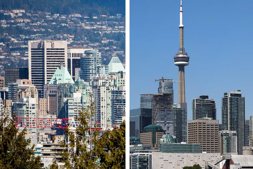 Sales in and around Toronto rose 53 per cent from April on a seasonally adjusted basis as new listings surged almost 48 per cent and the average price climbed 4.6 per cent, according to Toronto Regional Real Estate Board.