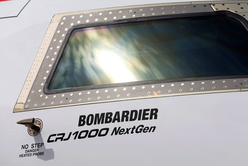 Bombardier is in talks to sell is CRJ unit to Mitsubishi.