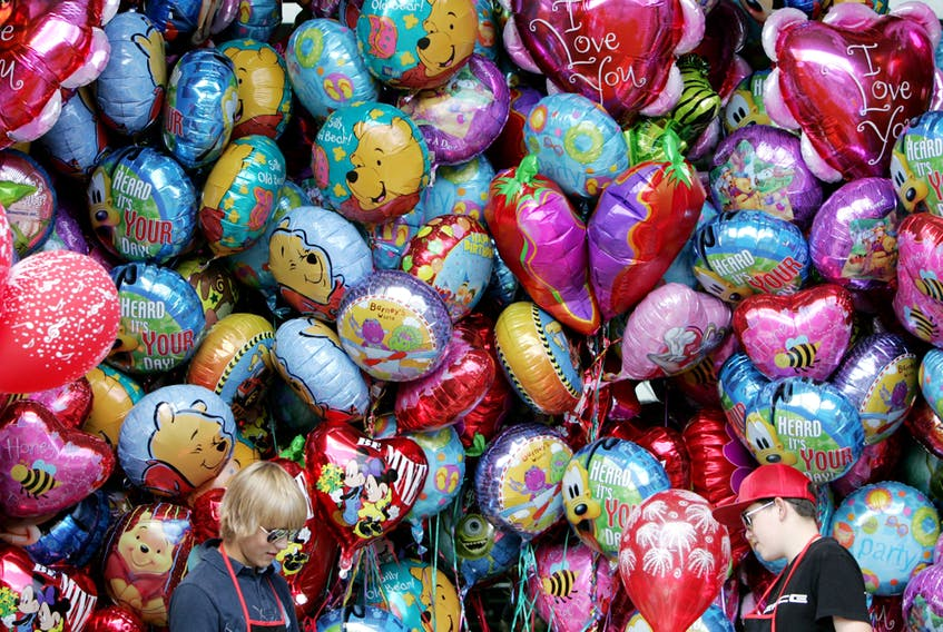 Party balloons constitute only a small percentage of the helium market.