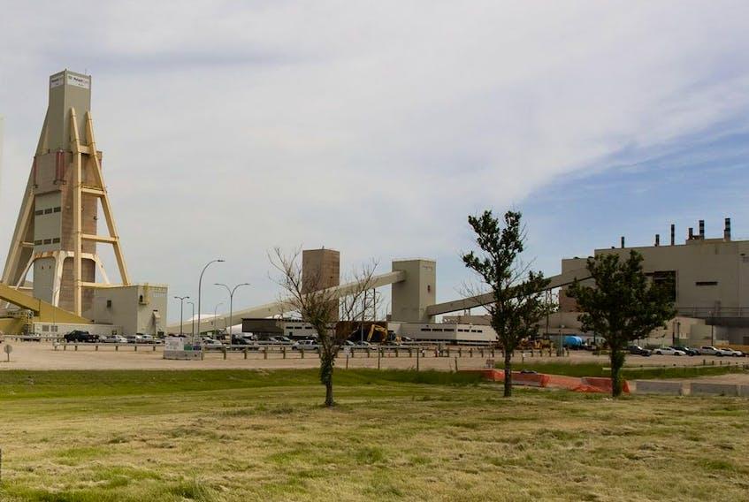 Nutrien's Allan potash mine, approximately 60 kilometres southeast of Saskatoon