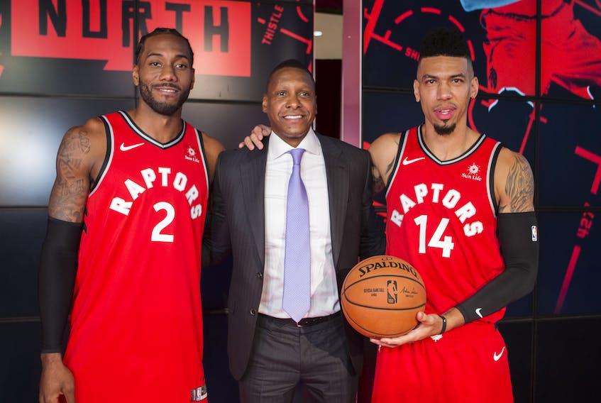 The Raptors have lost Kawhi Leonard (left) and Danny Green, but head coach Nick Nurse says the NBA's defending champions will still be good. Ernest Doroszuk/Toronto Sun/Postmedia