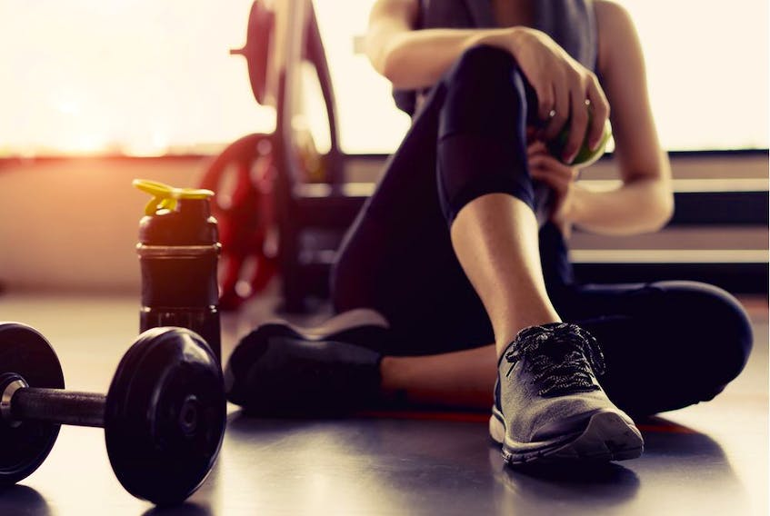 Paul Robinson notes that poor lifestyle choices can limit fitness progress.