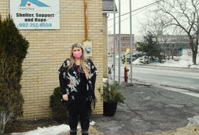 Viola's Place manager Lisa Deyoung is excited about work underway that will allow them to offer more resources to those in need in the community.
