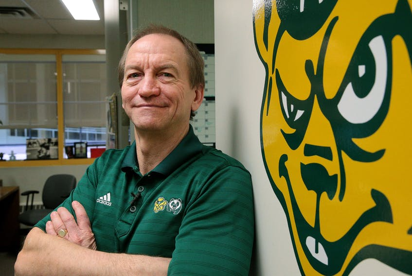 University of Alberta athletics director Ian Reade.