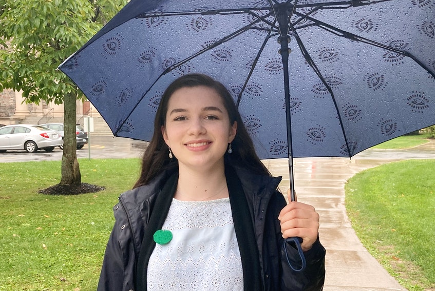 Sadie Quinn is a student at the University of King's College and a member of School Strike 4 Climate Halifax. (Photo submitted Sept. 18, 2020).