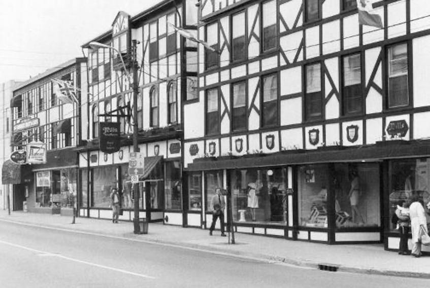 Mills Brothers department store in Halifax in 1984. - Chronicle Herald file