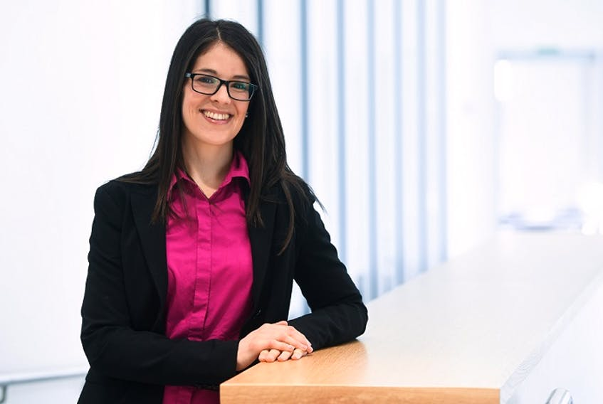 Jessie-Lee McIsaac is the lead researcher of a new online study by the Early Childhood Collaborative Research Centre at Mount Saint Vincent University, which will explore how the COVID-19 pandemic is affecting Maritime families with young children. - MSVU