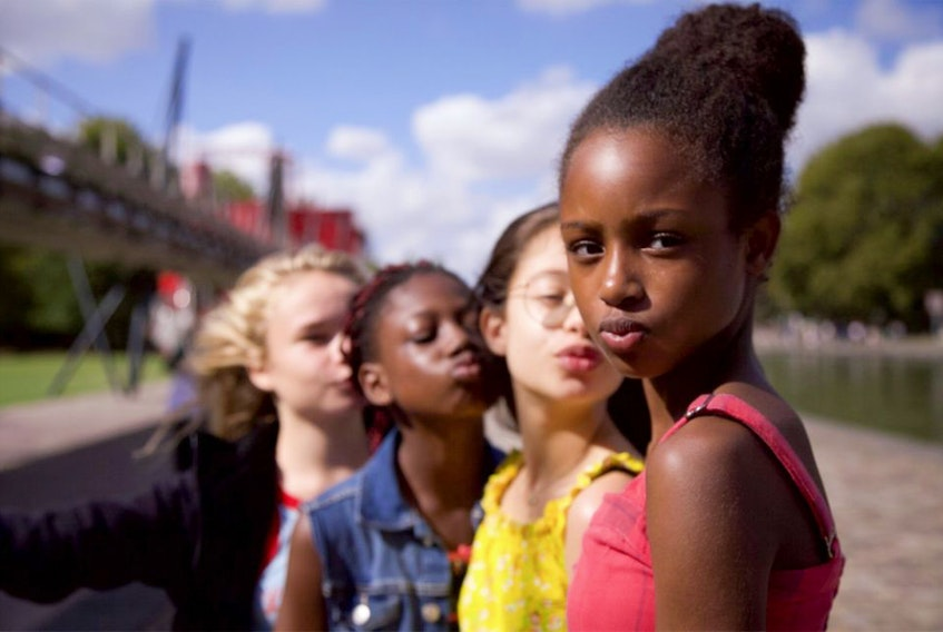 Netflix switched out the images promoting Cuties — an original showed the girls in tiny shorts and tops and in twerking dance poses — after a public outcry.