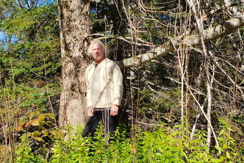 Forester Peter Romkey has been forest bathing as long as he can remember.