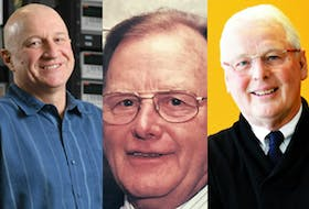 Left to right, Jeff Dahn of Halifax, John Eyking of Millville and Kenneth Wilson of Halifax were named to the Order of Canada on Friday, Nov. 27, 2020.  - Photos from gg.ca