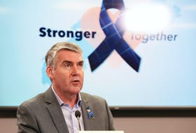 Premier Stephen McNeil provides his daily update to Nova Scotia's on the COVID-19 pandemic on Wednesday, April 22, 2020.