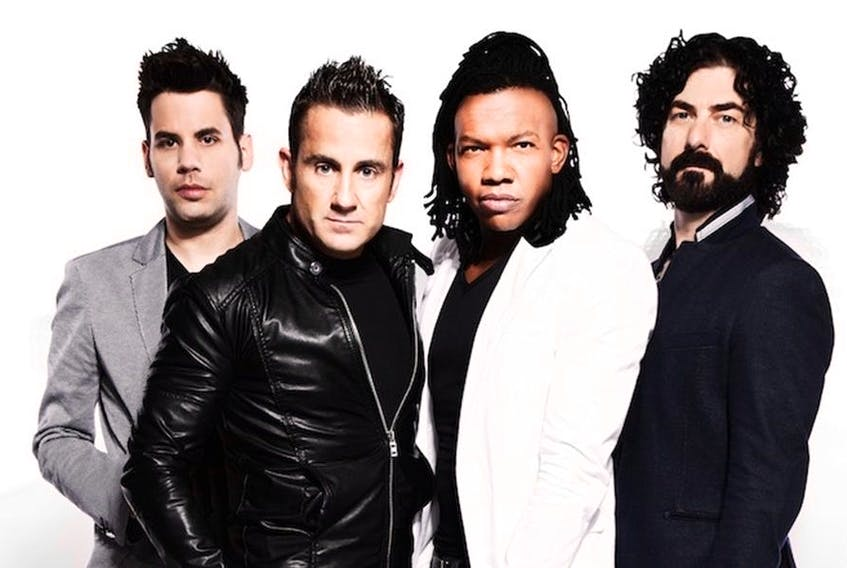 This is the band Newsboys United.
